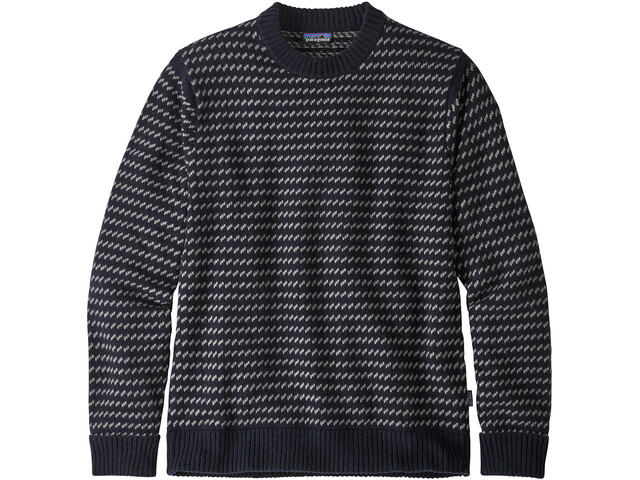 Patagonia Recycled Wool Sweater Herre classic navy